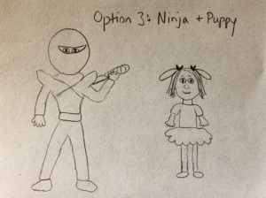 Ninja puppy